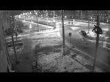 ДТП Екатеринбург ул. Татищева 26.10.17 Infiniti & столб