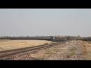 ТЭП70 0099 с поездом Ташкент Новосибирск mp4