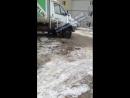 Улица Урицкого рядом с Извилистой застряла машина 24 02 18 Это Ростов на Дону