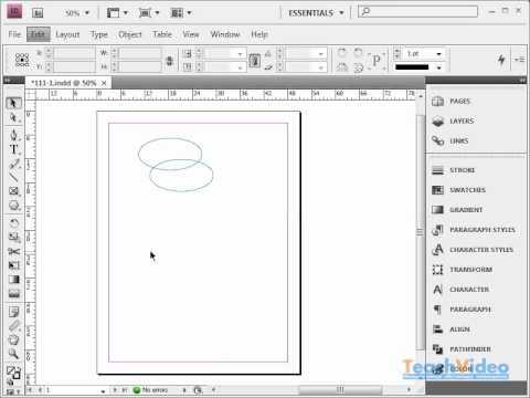 Слои в Adobe InDesign CS4 (2041)
