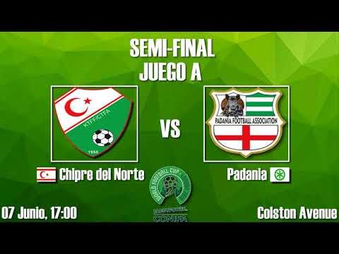 Semifinal - Copa Mundial de Fútbol de ConIFA Barawa 2018