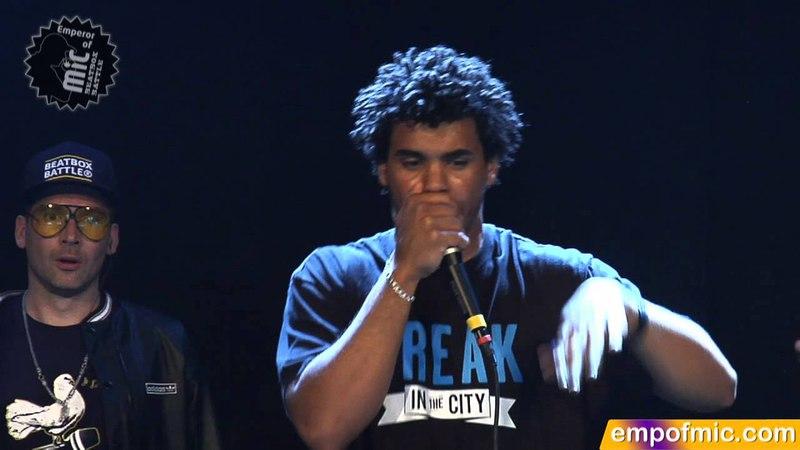 FINAL Beasty vs. Ball-Zee 2012 Emperor of MiC Final Beatboxing