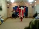 Смешной танец деда мороза