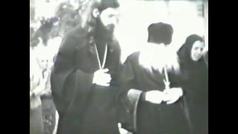 Архимандрит Серафим Тяпочкин 1894 1982 гг архивная кинохроника