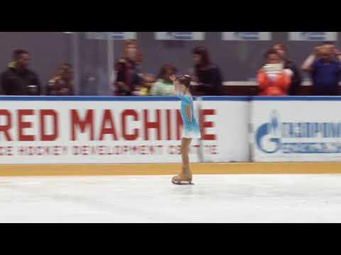 Надежда Мурзакова ШФК Елены Бережной 20180520 Ice NevIce G Novichok 1 2011