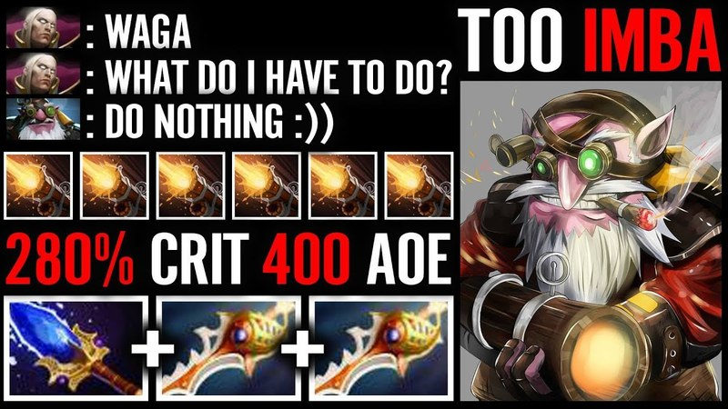 WTH?! Ultimate divine Tactic Eul's Scepter For Blade mail - insane cancer build - Waga dota 2