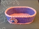11 Мастер-класс от А до Я Корзинка из газет DIY Newspaper Basket Weaving Tutorial ENGLISH SUBTITLES