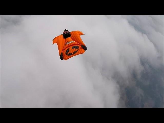 Wingsuit on DZ South Sky Skydive RND