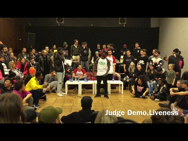 Original Slum Battle Krump Judge Demo Liveness