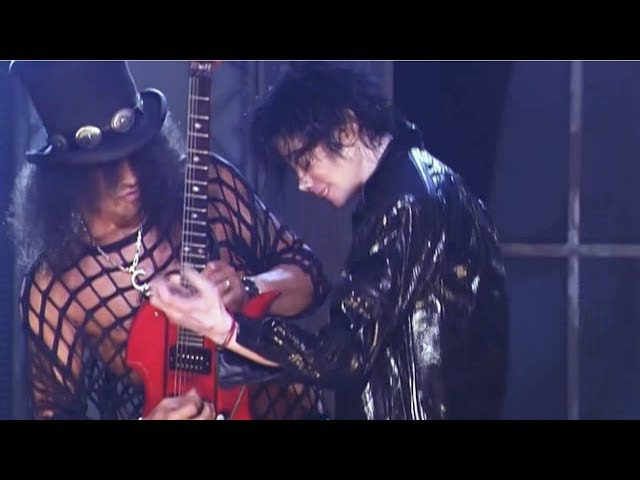 Michael Jackson [Ft. Slash] Beat It (Live 2001) Legendado em PT/ENG