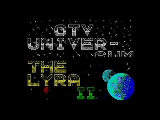 ZX Spectrum 48 128k The Lyra II Megademo 1991