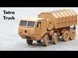 How To Make Tatra Truck From Cardboard