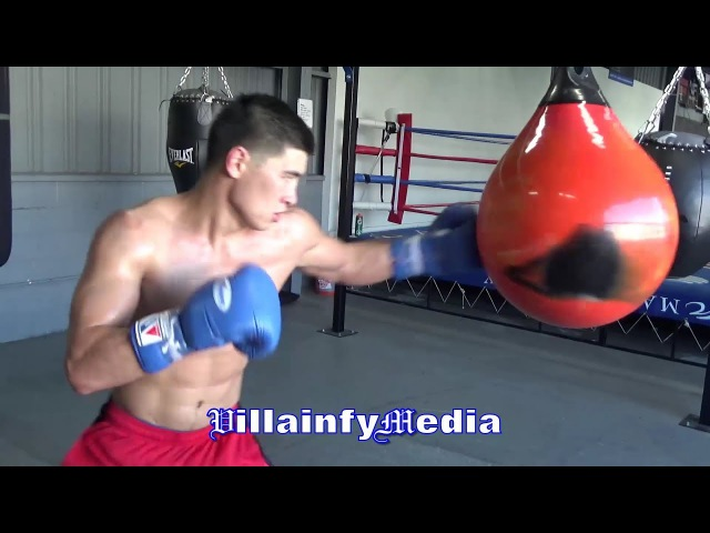 DMITRY BIVOL IS RIPPED, DISPLAYS HIS EXPLOSIVE POWER!! FIRST LOOK AT CAMP FOR SULLIVAN BARRERA
