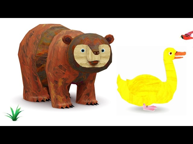 Eric Carle 🐻 Brauner Bär Tierparade 🐻 3D Bilderbuch App für Kleinkinder