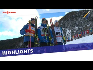 Alexey Poltoranin outduels Johannes Klaebo in Planica 15 km | Highlights