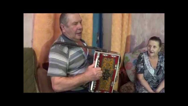 Гармонь дома у В Я Селезнева Село Волчье Липецк 15 01 18 г