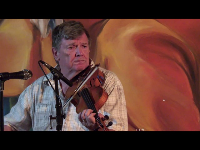 Irish Fiddle Legend Kevin Burke at Cafe Paradiso Fairfield Iowa August 23 2016