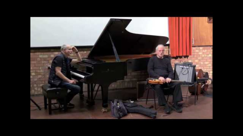 John Abercrombie and Marc Copland Visit