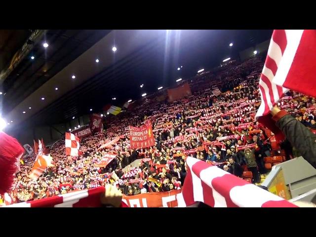 Liverpool - You'll Never Walk Alone 👍👍👍👍 Просто супер. Гимн Ливерпуля.