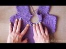 РЕГЛАН на круговых спицах How to knit raglan from the bottom