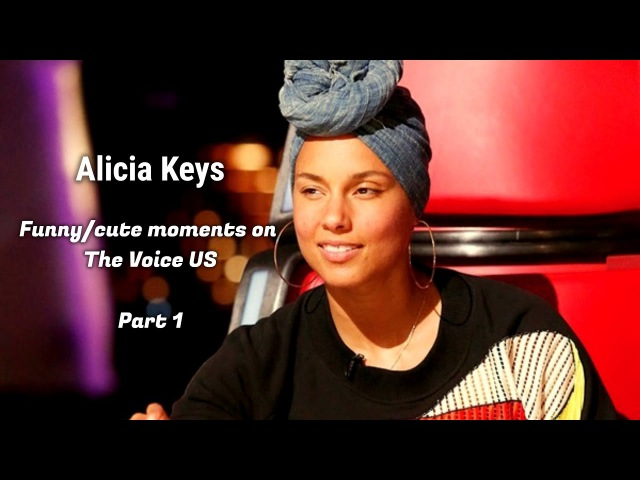 Alicia Keys   Funny/Cute moments on The Voice US