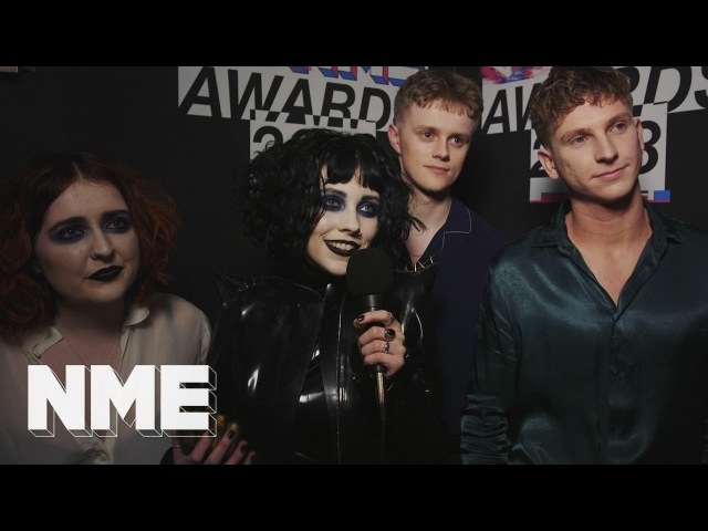 Pale Waves Naomi Campbell is an absolute ledge VO5 NME Awards 2018