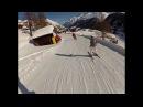 Церматт Швейцария спуск в поселок черная трасса N62