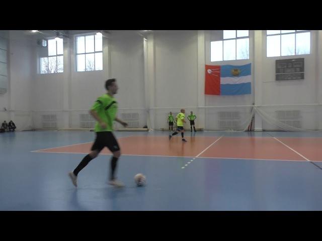 ФК «ОКБ МЭЛ» - ФК «BazaCity» - 2 тайм