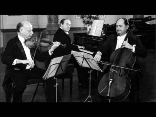 Beaux Arts Trio - Beethoven Piano Trio No2