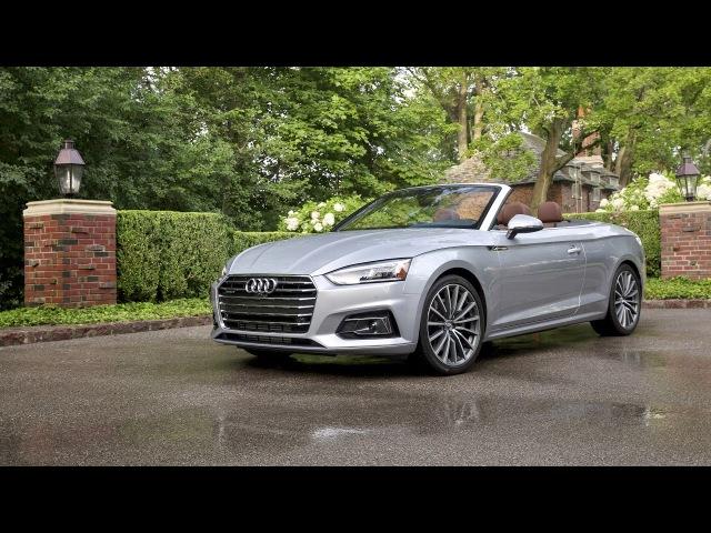 2018 Audi A5 Cabriolet 2 0T quattro North America 2017
