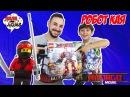 Папа Роб и Ярик и LEGO NINJAGO MOVIE! Нападение Гармадона. Часть 1