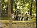Реклама летнего кафе и ночного клуба СТЕЛС г. Ош
