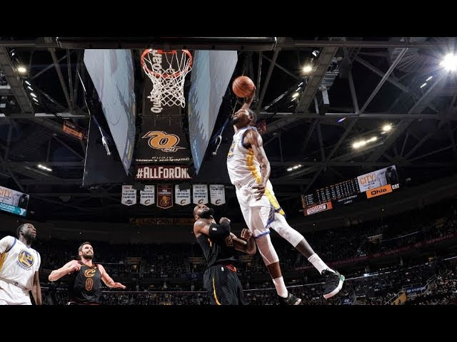 Every Dunk From the Warriors/Cavs Game   January 15, 2018 NBANews NBA Cavaliers Warriors