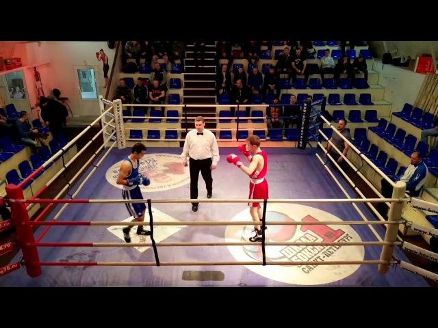 Игорь Горюнов (Выборжанин) vs Тажибаев Азизбек (Кировец) 49кг