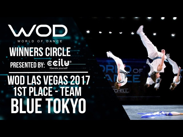 Blue Tokyo | 1st Place Team | Winners Circle | World of Dance Las Vegas 2017 | WODLV17