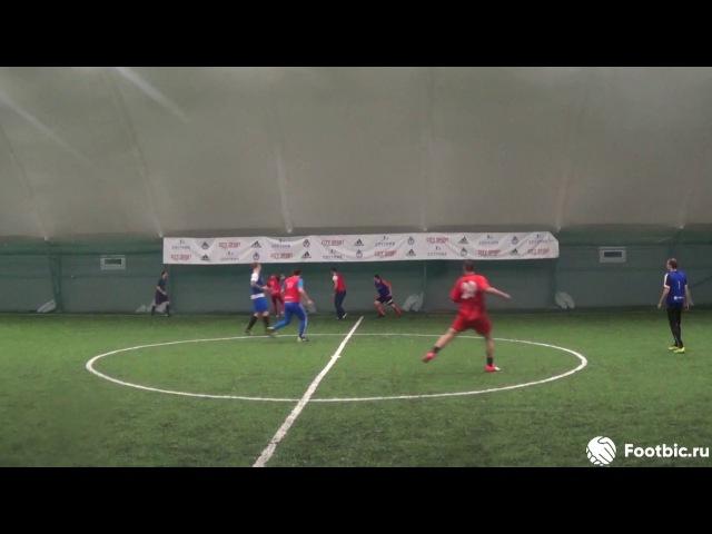 FOOTBIC.RU. Видеообзор 16.09.2017 (Метро Марьина Роща). Любительский футбол