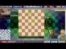 Шахматы с МГ Станиславом Новиковым. Атака на короля с жертвой ферзя. Игра вслепую