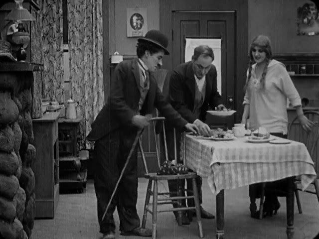 The Tramp (1915) - Charlie Chaplin - Edna Purviance