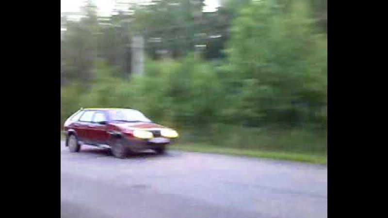 моя первая машина ваз 21093 девяточка))