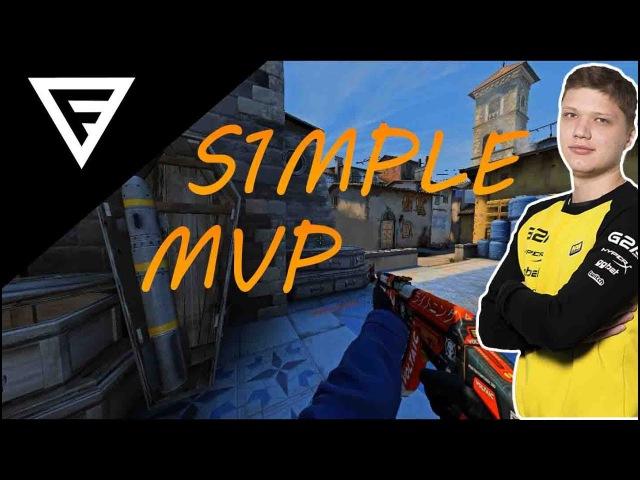 CS:GO Highlights - s1mple MVP