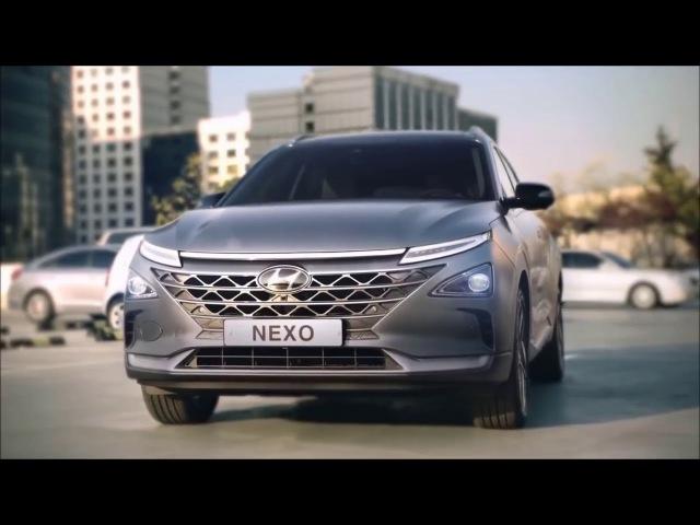 Hyundai NEXO 2019. Водородный кроссовер. Будущее в настоящем!