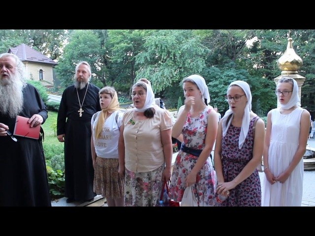 Молитва на Святой Кринице (г. Ставрополь)