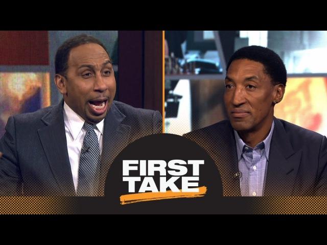 1 часть: Scottie Pippen says LeBron James has surpassed Michael Jordan 'in many ways' | First Take | ESPN