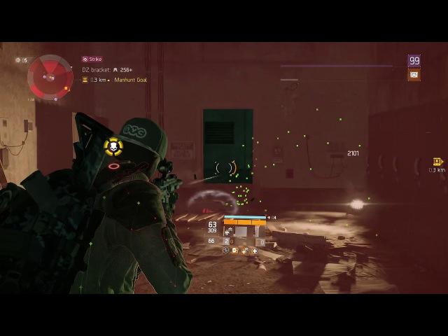 The Division: 20 Kill Solo Striker Manhunt [Patch 1.8]
