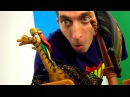 Видео с игрушками ДИППЕР и ВЕНДИ ловят ДИНОЗАВРА озера ГравитиФолз 🌊 Игры для ...