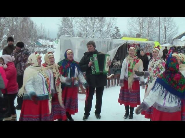 Афанасьевская ярмарка 2016 г. с. Нёбдино, Корткеросский район