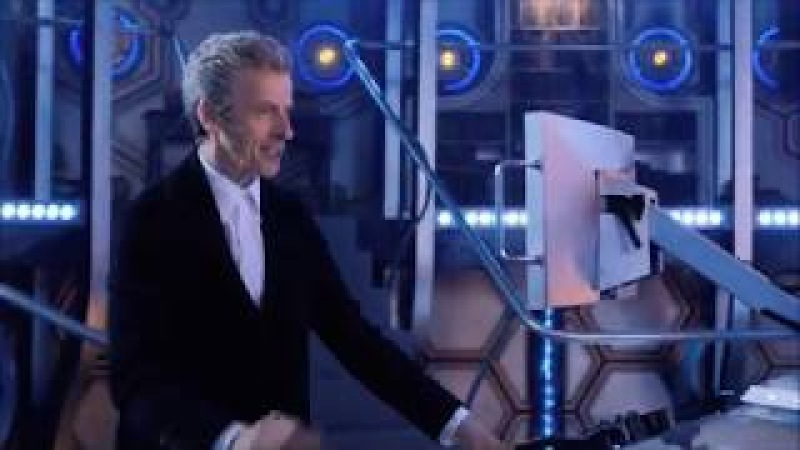 Doctor Who The Doctor Gets Frustrated As Clara Mispronounces His New Device