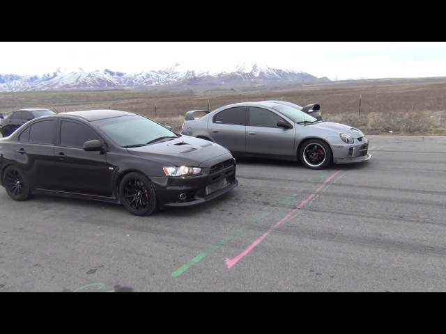 Evo X vs SRT 4