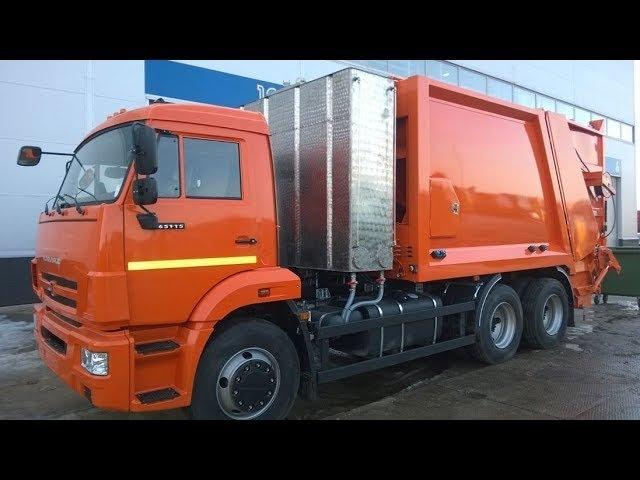 HIDROMAK-TC15 (аналог OMB-TC15) - мусоровоз ЗЗ, 15 м.куб., с системой мойки контейнеров