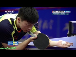 Ma Long vs Fan Zhendong (2017 Chinese National Games)